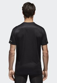 adidas Performance - RUN TEE  - T-shirts print - black - 1
