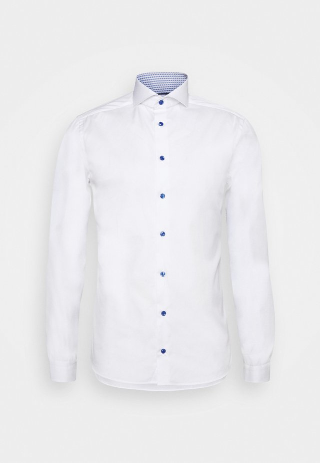 SUPER SLIM SHIRT - Kauluspaita - white poplin