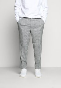Topman - LUTHER - Suit trousers - grey - 0