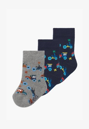 CARS 3 PACK - Socks - navy/grau