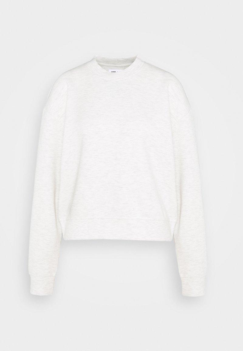Samsøe Samsøe - KELSEY CREW NECK - Sweatshirt - light grey melange