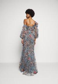 Marchesa - OFF THE SHOULDER GOWN - Společenské šaty - smokey blue - 2