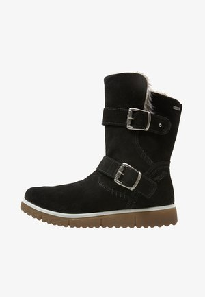 LORA - Cowboy/biker ankle boot - black
