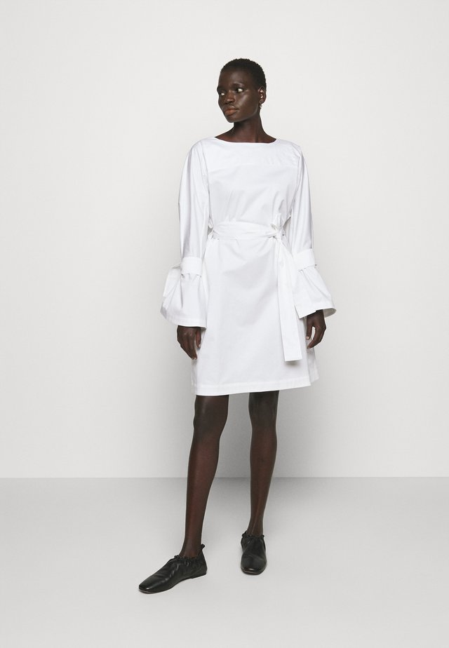 FLAME DRESS - Day dress - white