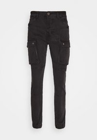Brave Soul - DUST - Cargo trousers - charcoal - 5