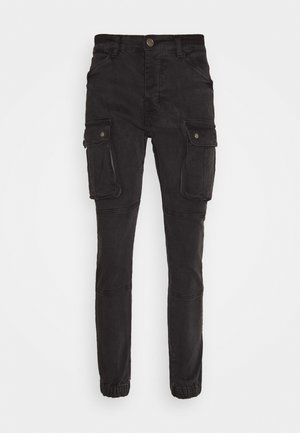 DUST - Cargo trousers - charcoal