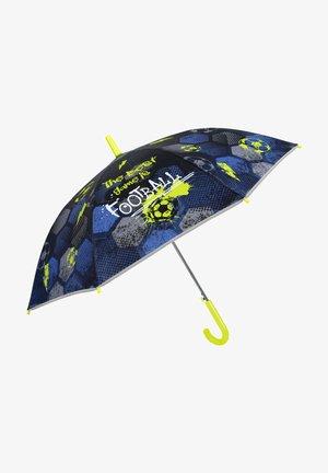 FOOTBALL STICK UMBRELLA - Umbrella - blu
