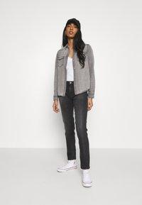 Vero Moda - VMMARIA SHIRT - Button-down blouse - black - 1