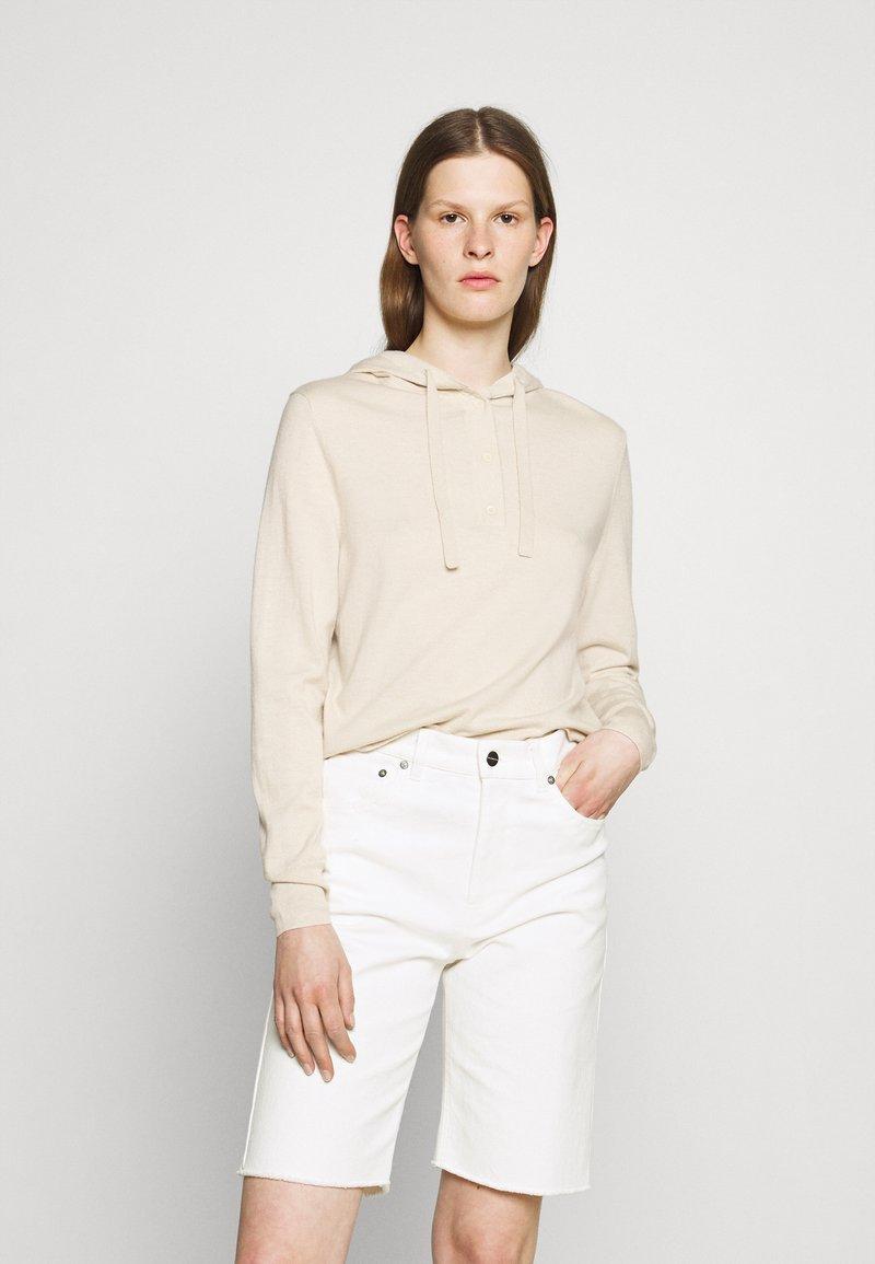 Filippa K - CHIARA HOODIE - Maglione - soft beige