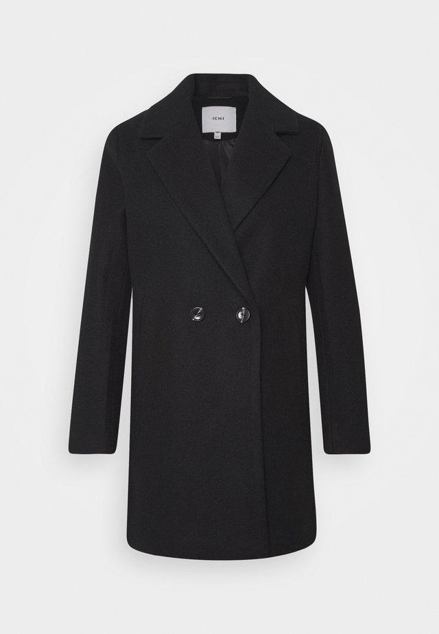 IHJANNET - Klasický kabát - black
