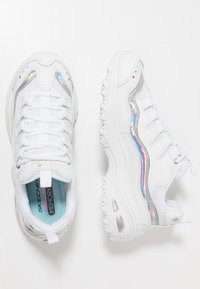 Skechers Sport - D'LITES - Trainers - white/silver - 3