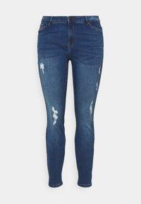Vero Moda Curve - VMHANNA - Jeans Skinny Fit - medium blue denim - 3