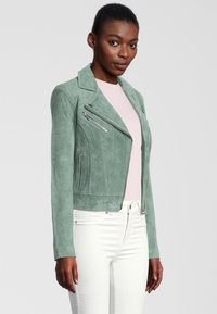 Rino&Pelle - DAMINA - Leather jacket - green - 2
