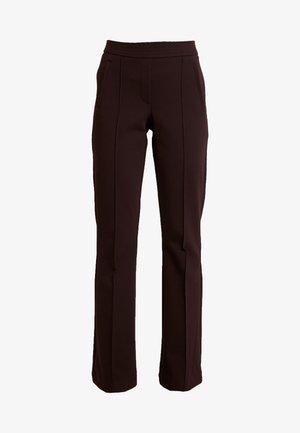 NOISE - Trousers - port melange