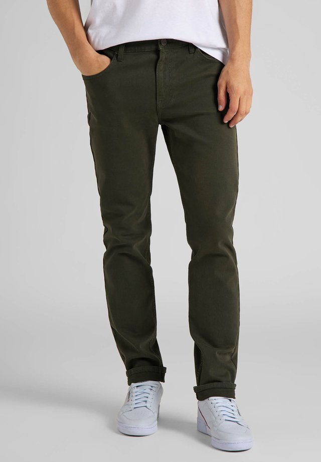 RIDER - Straight leg jeans - serpico green