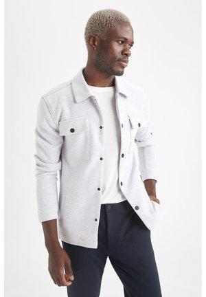 HEMDJACKE - Summer jacket - grey