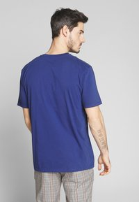 Scotch & Soda - CLASSIC CREWNECK TEE - T-shirt basic - worker blue - 2