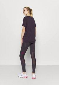 adidas Performance - LONG - Collants - purple - 2