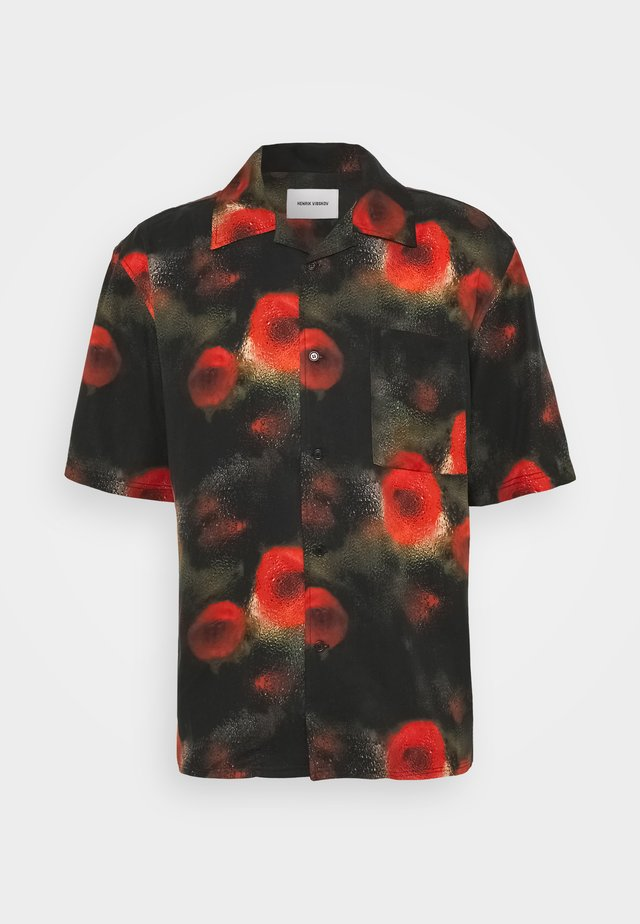THE ARTIST - Camicia - black / multi-coloured