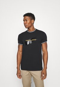 Kings Will Dream - CANEYTEE - Print T-shirt - black/gold - 0
