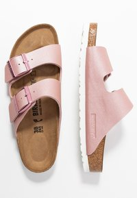 Birkenstock - ARIZONA - Slippers - icy metallic old rose - 3