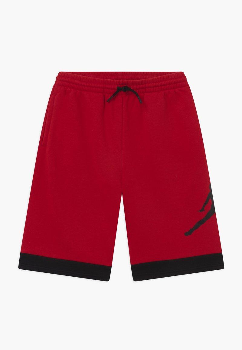 Jordan - JUMPMAN AIR - Korte broeken - black/gym red