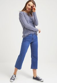 Samsøe Samsøe - NOBEL STRIPE - Long sleeved top - white/blue - 1