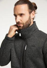 ICEBOUND - Fleece jacket - dunkelgrau melange - 3