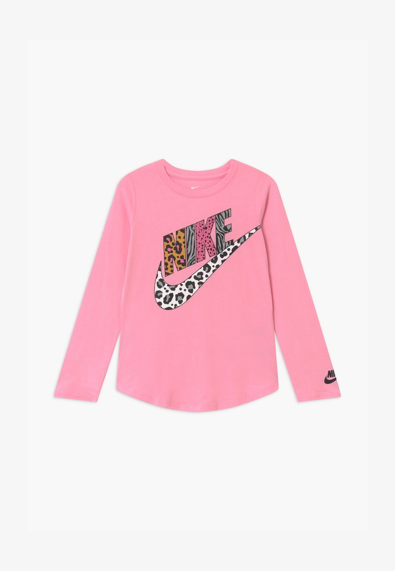 Nike Sportswear - FUTURA PRINT PART - Top sdlouhým rukávem - pink