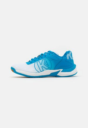 ATTACK 2.0 WOMEN - Handball shoes - white/blue