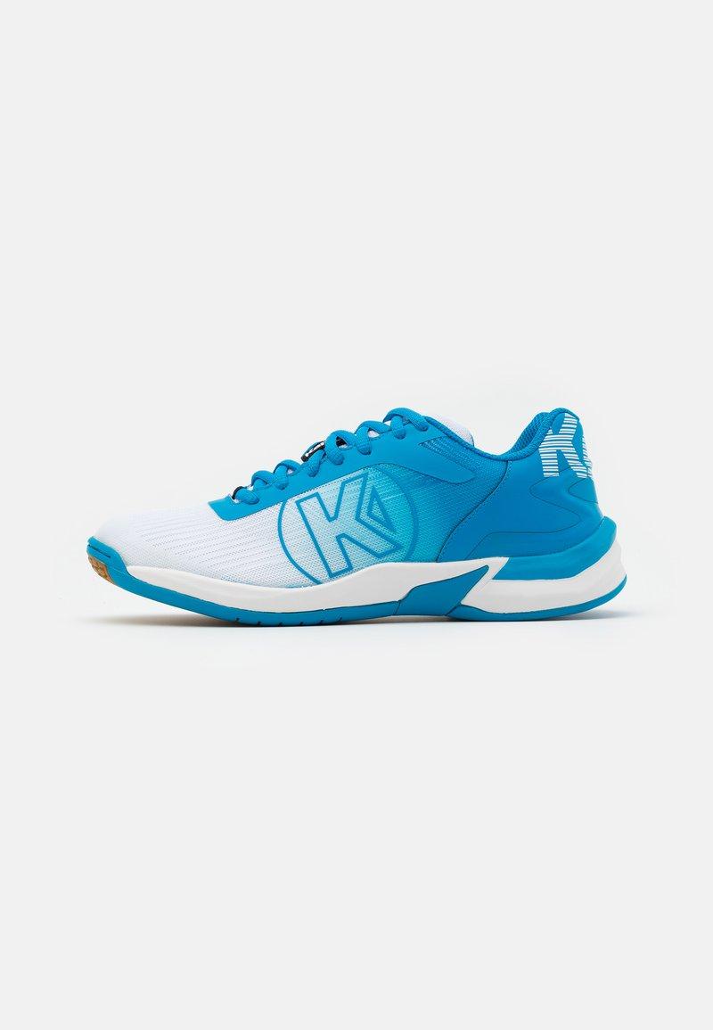 Kempa - ATTACK 2.0 WOMEN - Zapatillas de balonmano - white/blue