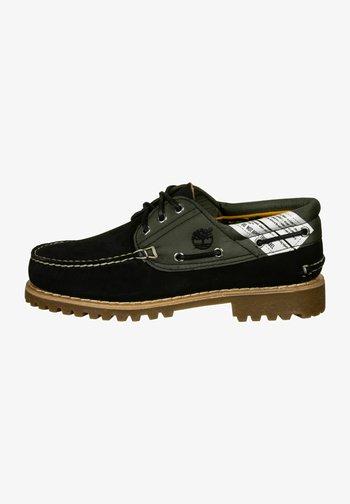 Authentics - Boat shoes - black