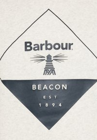 Barbour Beacon - BLAZE OVERLAYER - Sweatshirt - ecru marl - 2