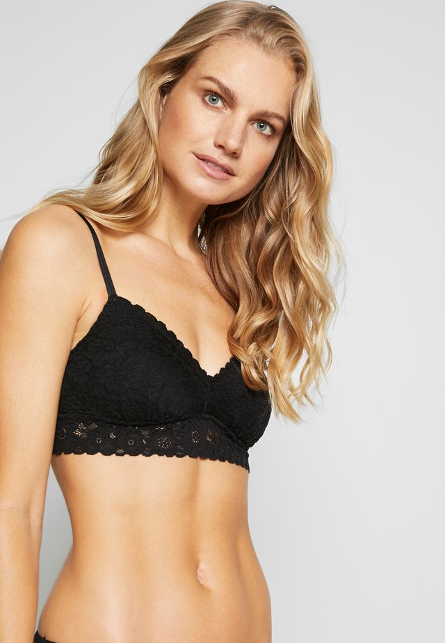 SOFTEST BRALETTE - Topp - true black