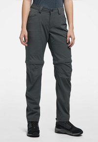 Haglöfs - ZIP OFF PANT - Outdoor trousers - magnetite - 0