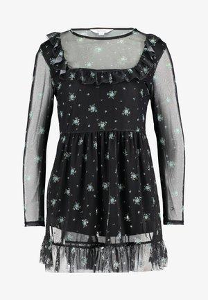 PRINTED FRILL DRESS - Day dress - multi
