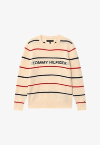 Tommy Hilfiger - STRIPE - Jumper - off-white - 2