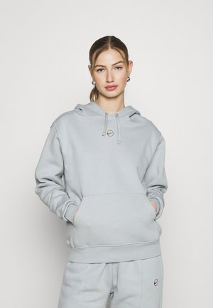 HOODIE - Felpa - light smoke grey