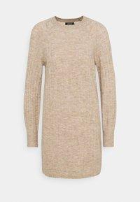 ONLY Petite - ONLCORINNE DRESS - Jumper dress - toasted coconut melange - 0