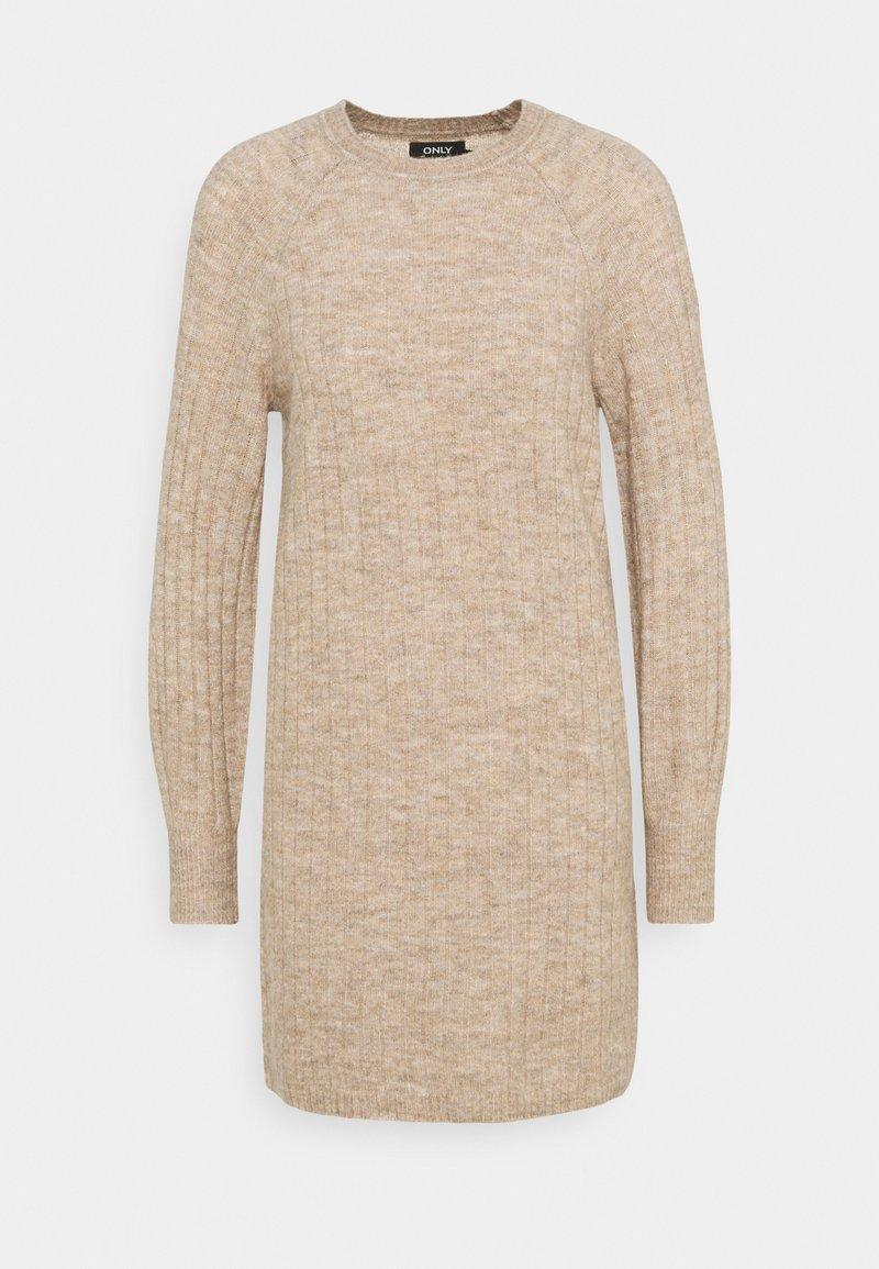 ONLY Petite - ONLCORINNE DRESS - Jumper dress - toasted coconut melange