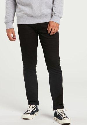 2X4 TAPERED - Jean droit - black on black