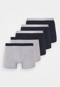5 PACK - Panties - dark blue/ mottled grey