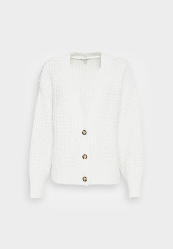 STITCH CARD - Cardigan - off white