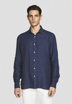 PURE - Camicia - navy blue
