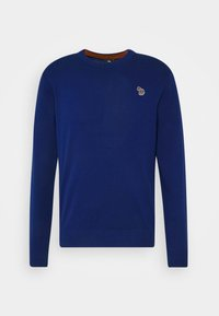 PS Paul Smith - MENS CREW NECK ZEBRA - Jumper - dark blue - 4