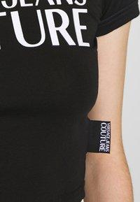 Versace Jeans Couture - T-shirt print - black - 4