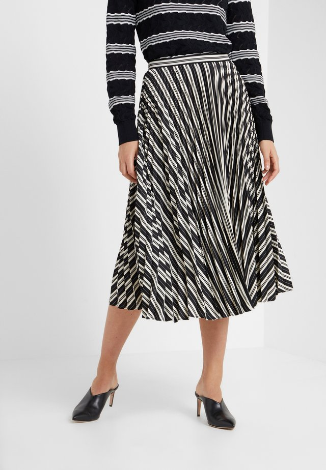 ANNINA SKIRT - Gonna a campana - black stripe