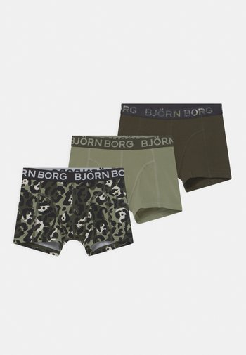 CAMODOTS SAMMY 3 PACK - Pants - dark green