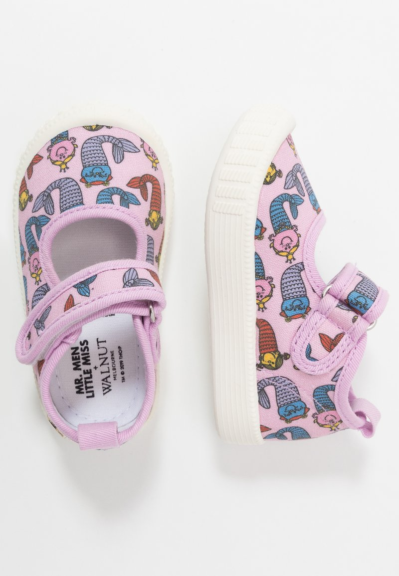 Walnut - CLASSIC - Ankle strap ballet pumps - pink