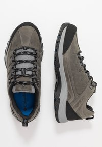 Columbia - TERREBONNE II OUTDRY - Hiking shoes - ti grey steel/blue jay - 1